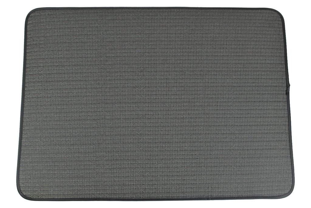 DII Xxx-Large Gray Striped Cage Mat