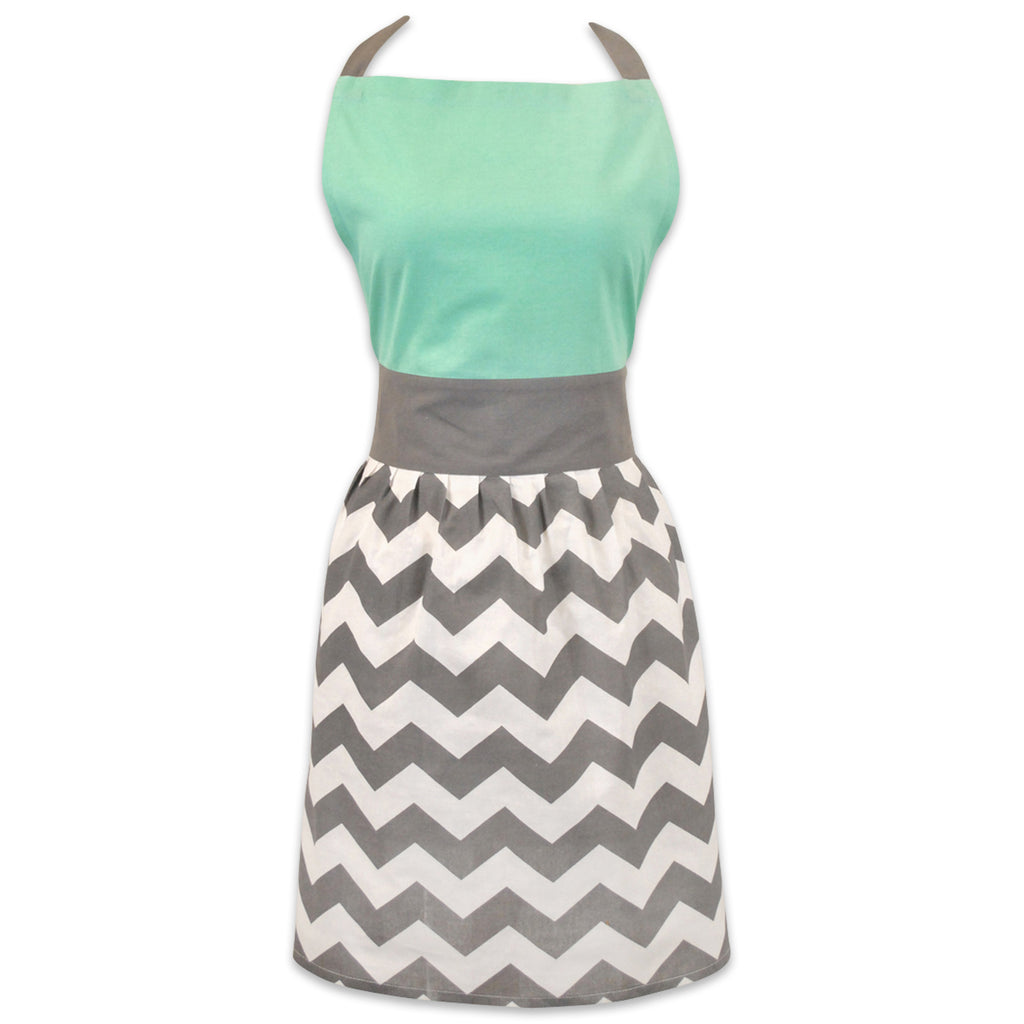 Chevron Skirt Apron