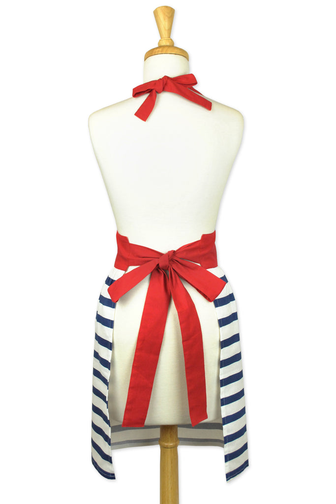 DII Striped Skirt Apron