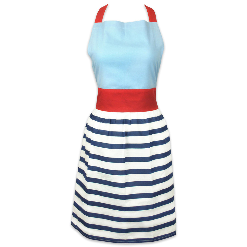Striped Skirt Apron