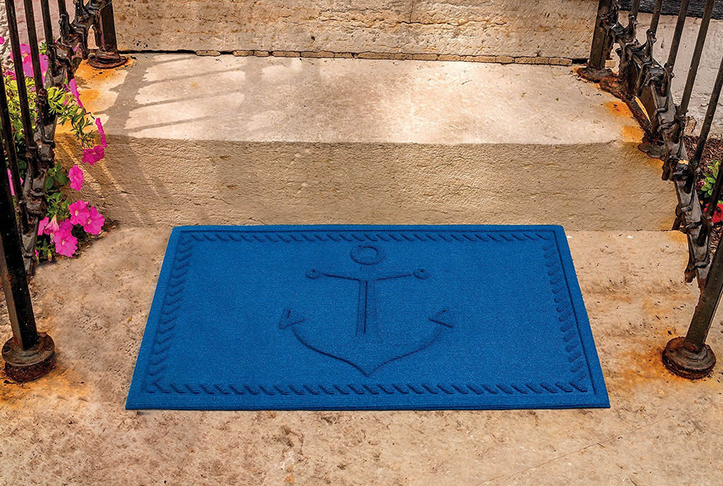 DII Blue Anchor Hog Mat
