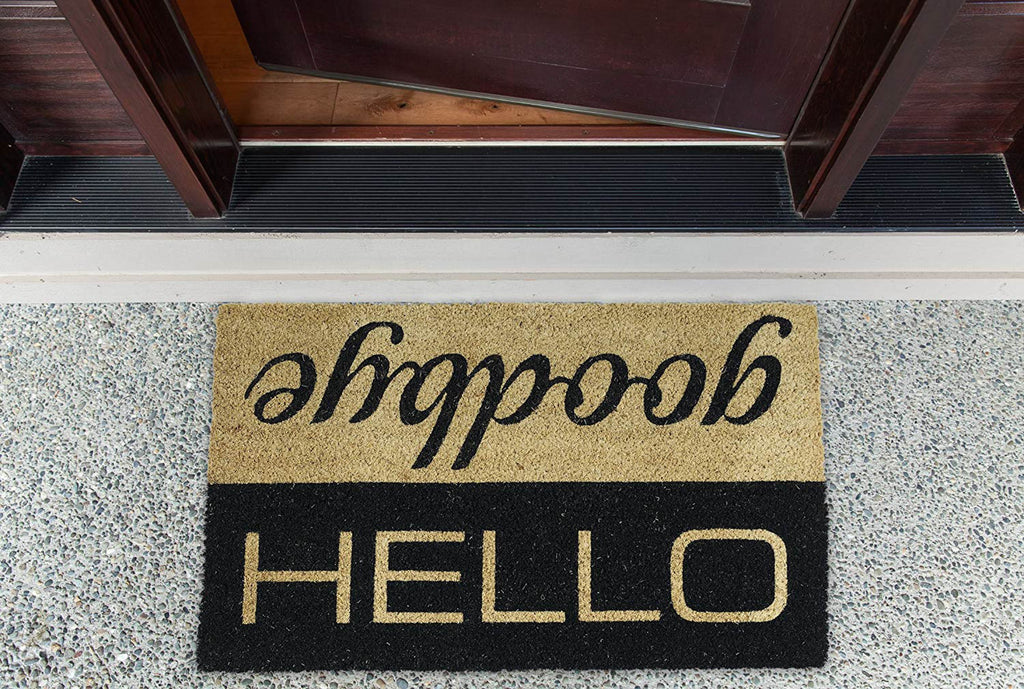 DII Hello/Goodbye Doormat