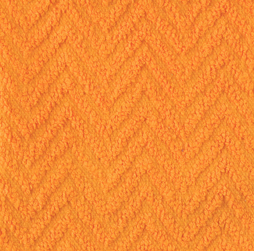 DII Orange Zigzag Dishtowel (Set of 4)