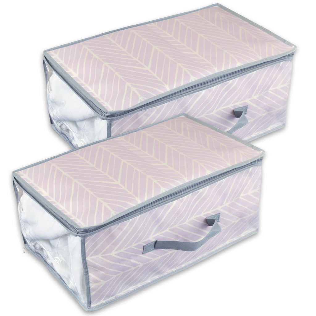 Chevron Soft Storage 18x12x8 Set/2
