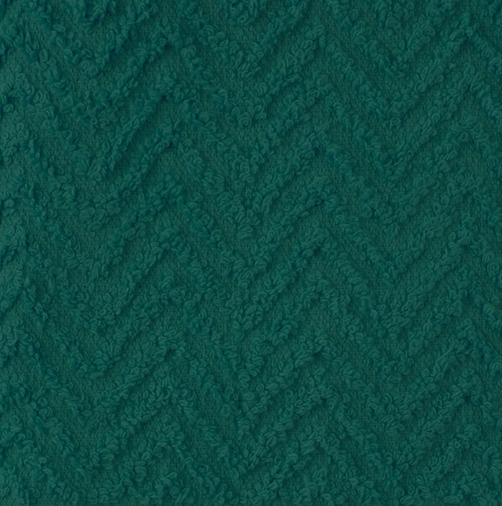 DII Teal Zigzag Dishcloth (Set of 6)