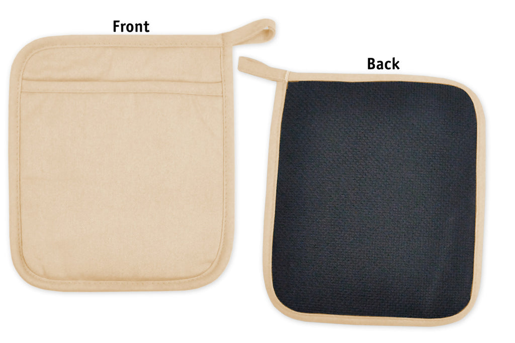 DII Neoprene Potholder (Set of 2) Pebble