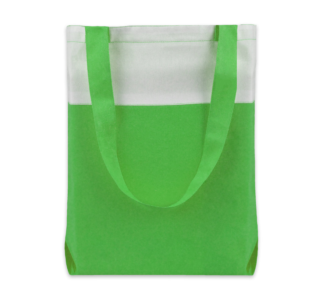 DII Canvas Bag Neon Brights (Set of 3)
