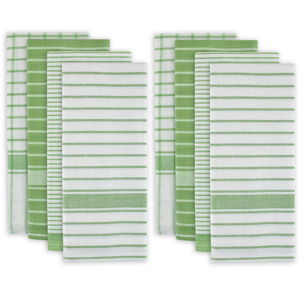 Green Basic Dishtowel Set/8