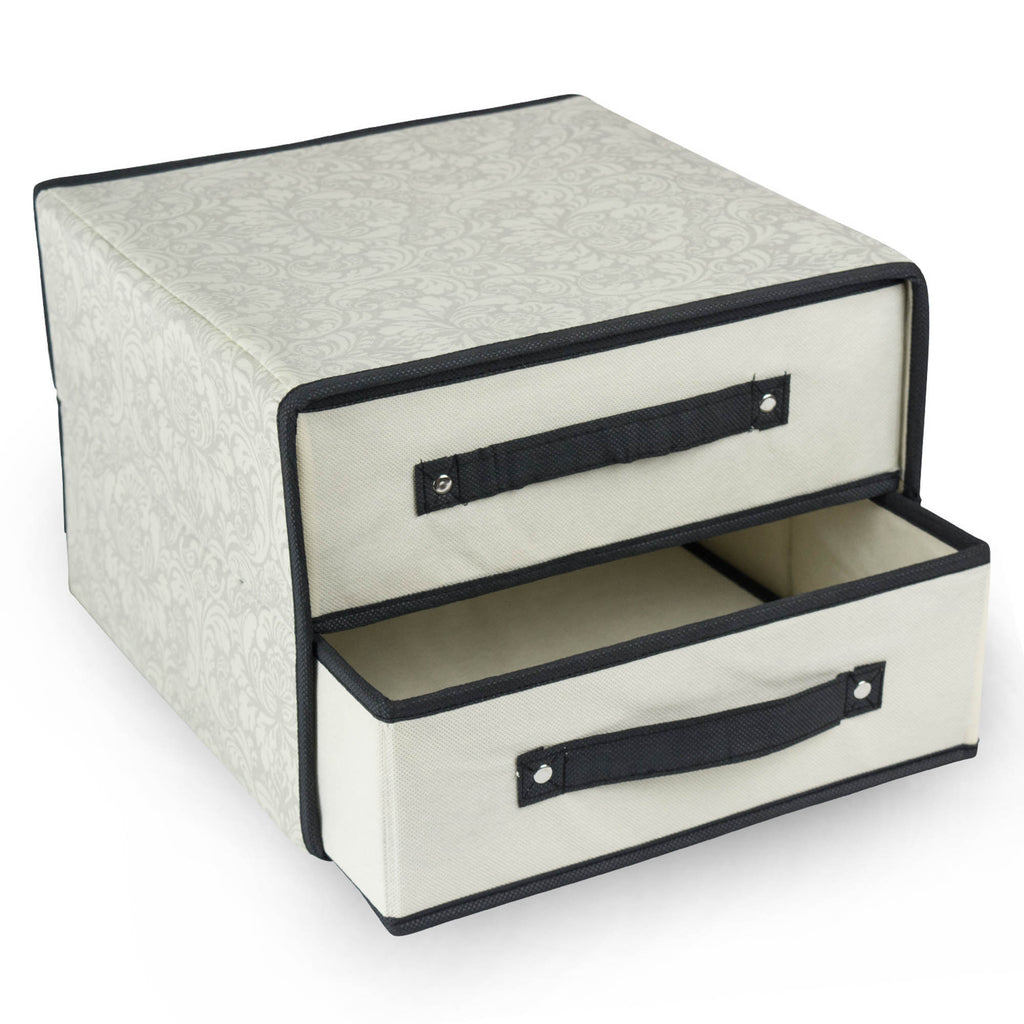 DII Storge Closet 2 Drawer Damask