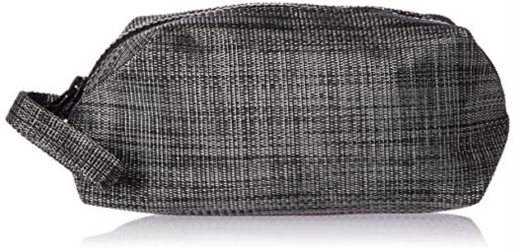 Black Cosmetic Pouch With Handle