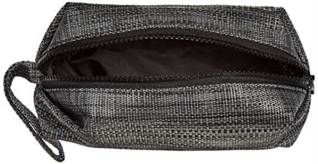 DII Black Cosmetic Pouch With Handle