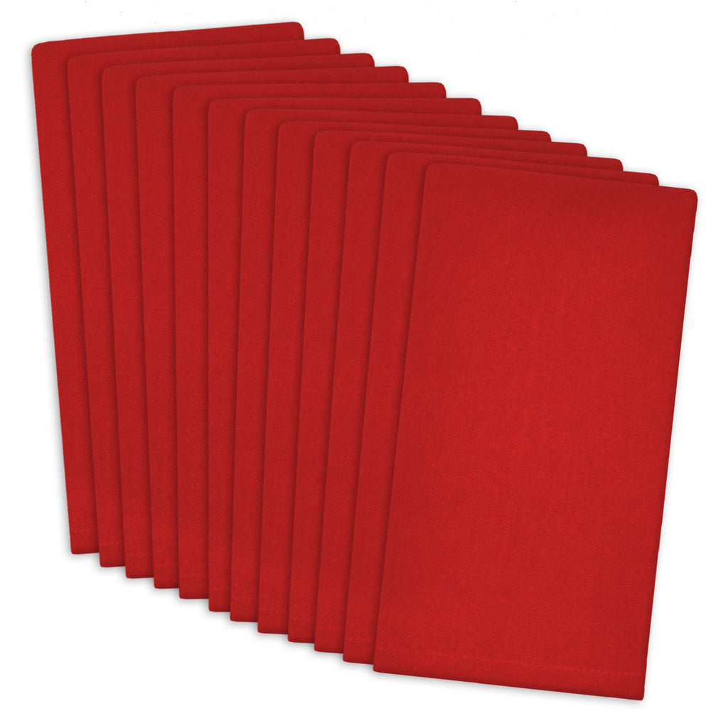 Tango Red Buffet Napkin Set/12