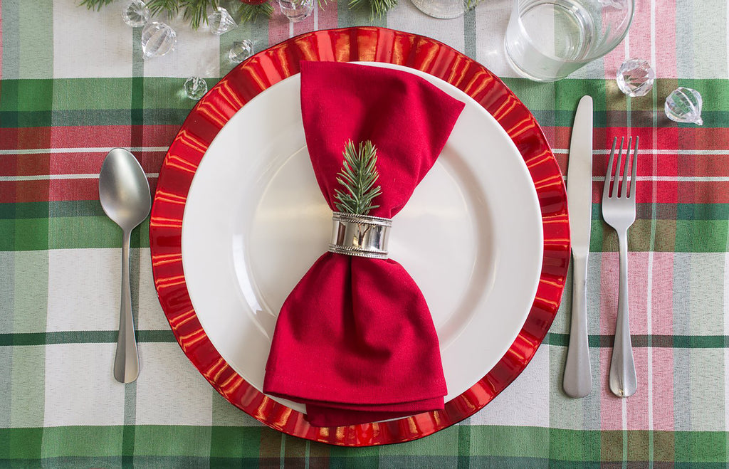 DII Tango Red Buffet Napkin (Set of 12)