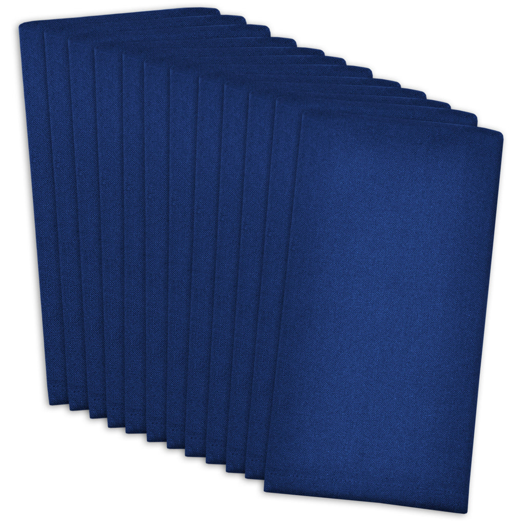 Nautical Blue Buffet Napkins Set/12