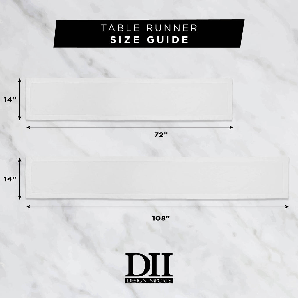 DII Silver Woven Paper Table Runner, 14x72""