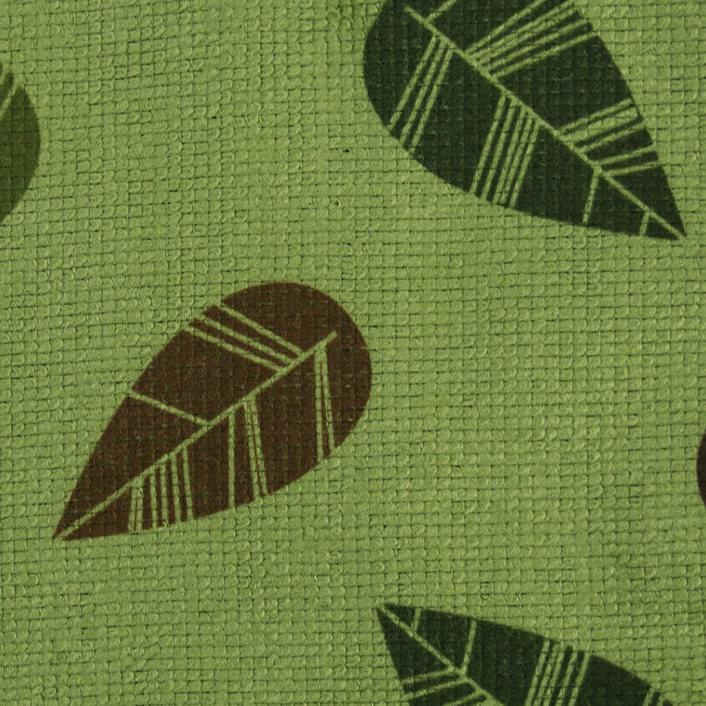 DII Dishcloth Microfiber Green Leaves