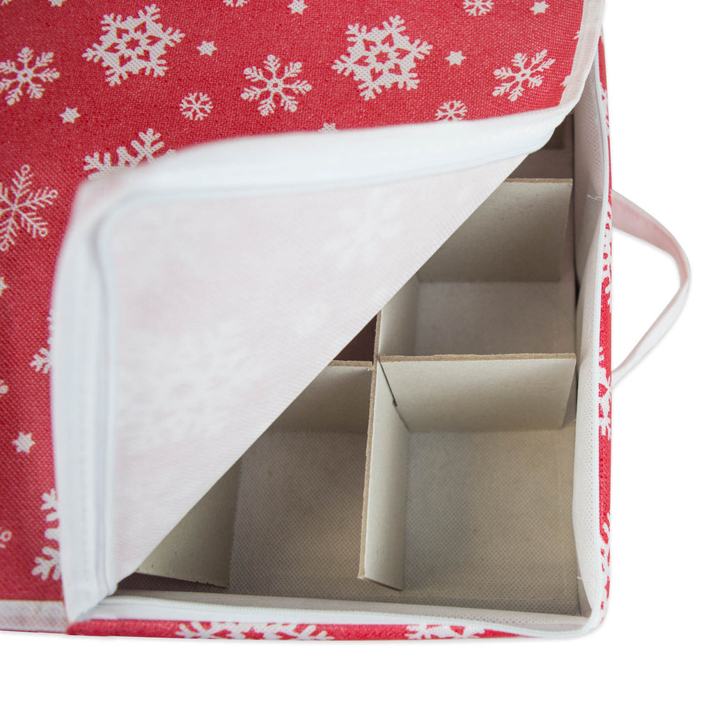 DII Ornament Storage Small Snowflake