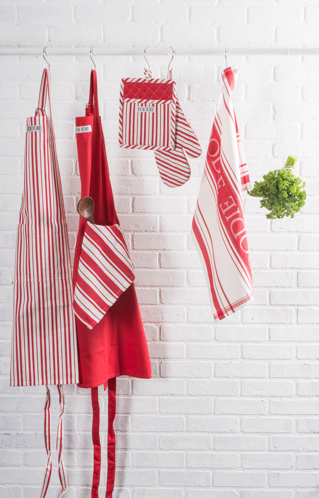 DII Assorted Tomato Gourmet Chef Dishtowel (Set of 2)