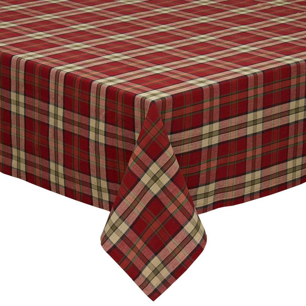 Campfire Plaid Tablecloth 52x52