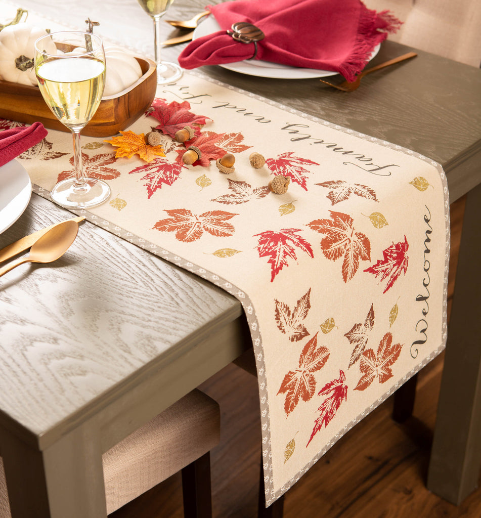 DII Gather Together Print Table Runner, 14x72""