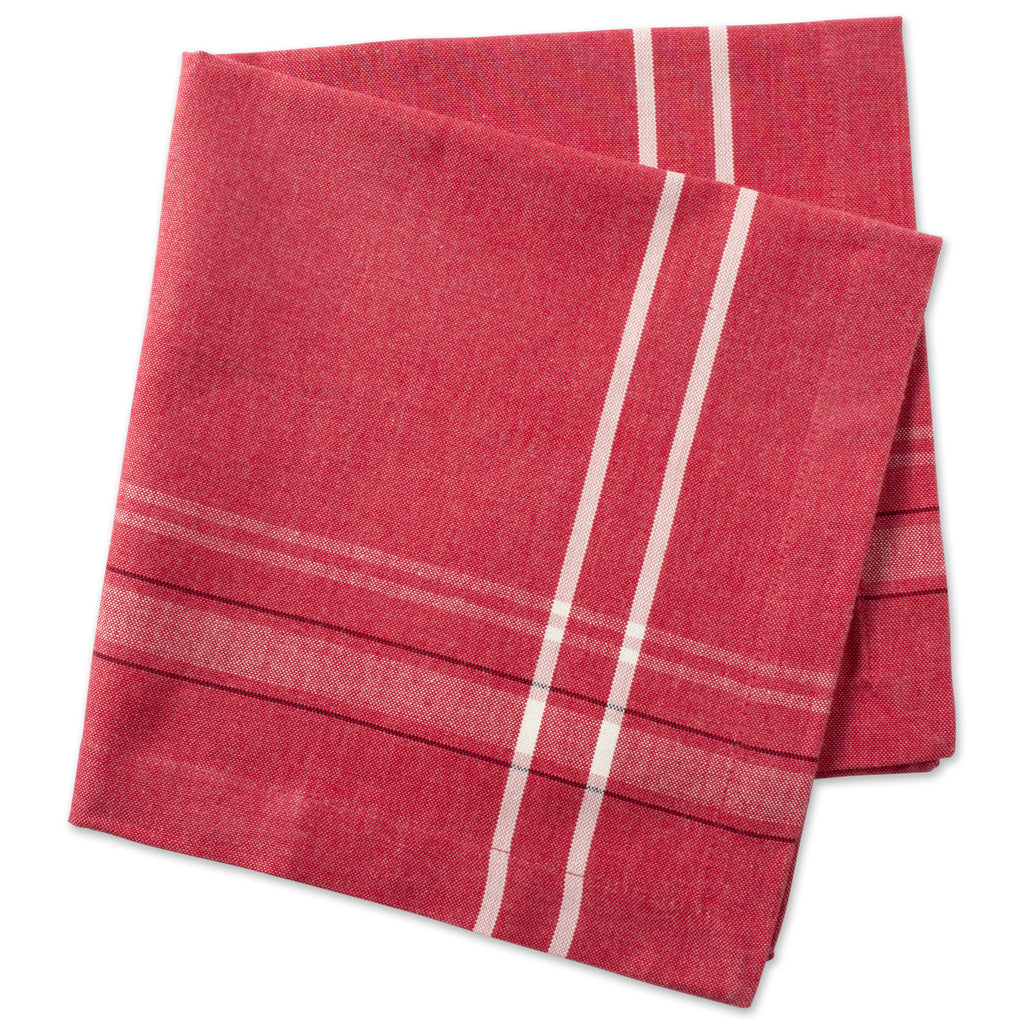 DII Tango Red French Chambray Napkin (Set of 6)