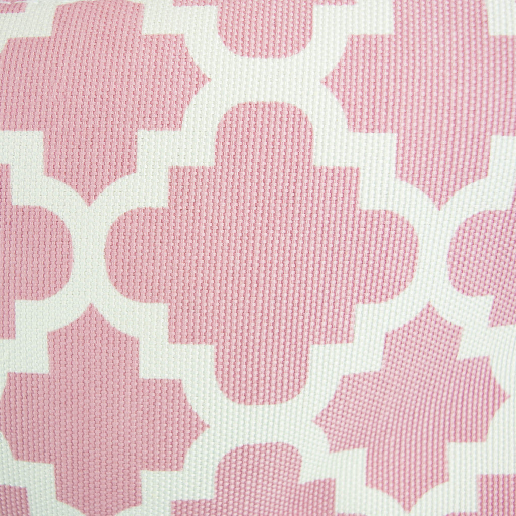 DII Polyester Bin Lattice Rose Rectangle Small