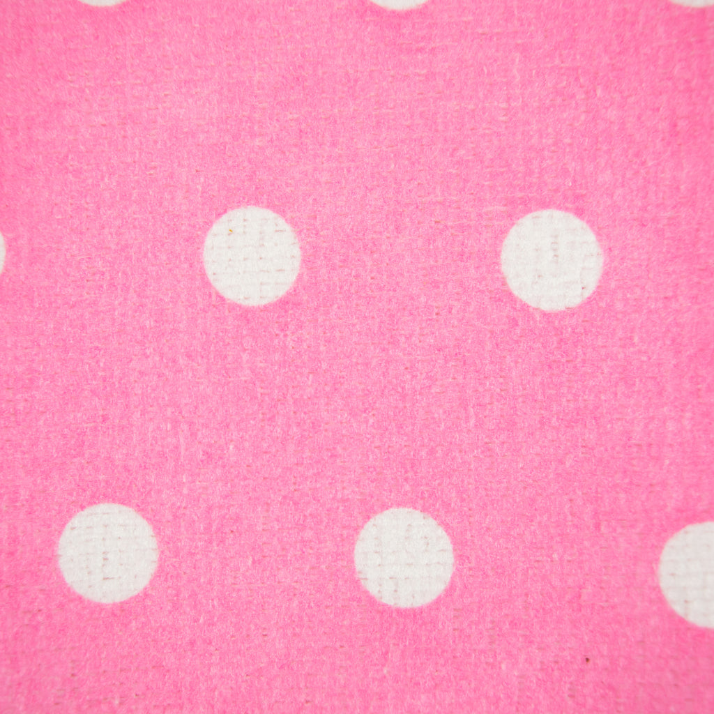 DII Microfiber Dots Dishtowel Pink(Set of 4)