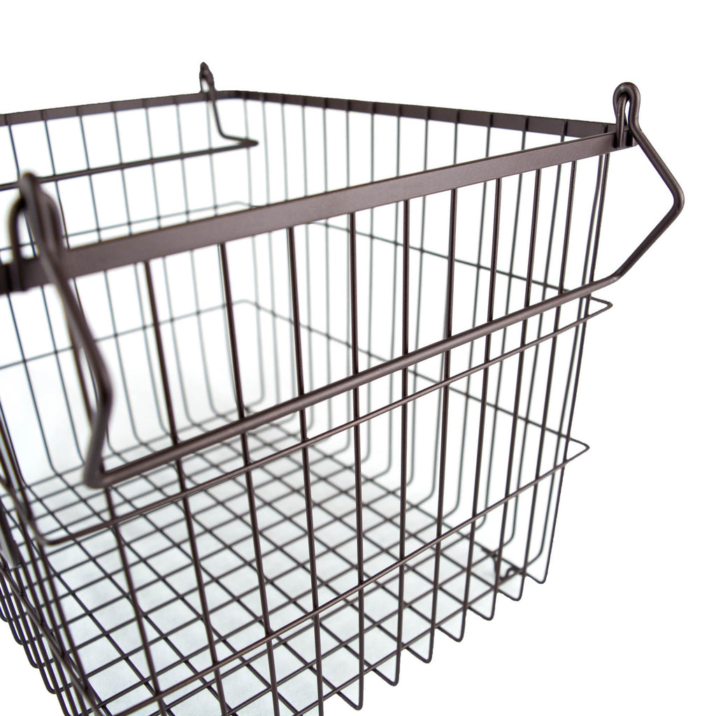 DII Metal Basket Bronze Rectangle Medium