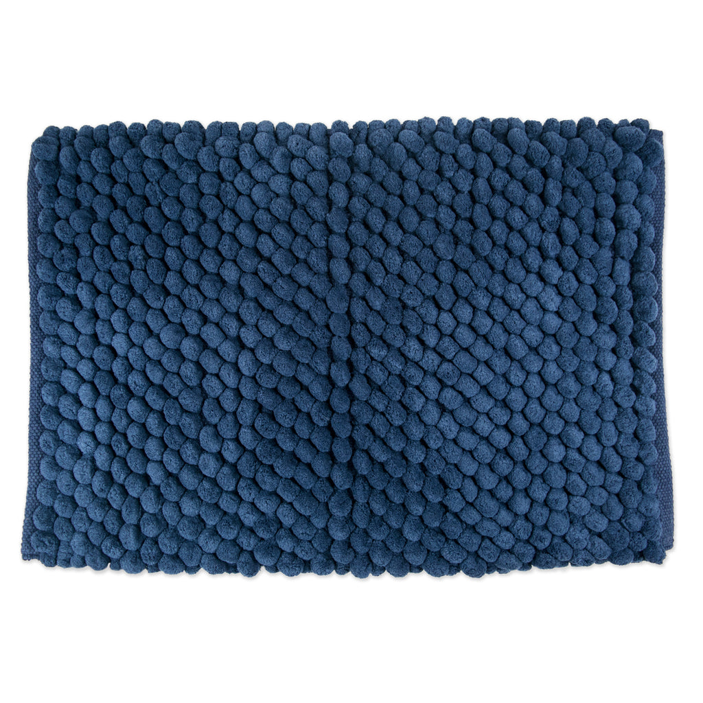 Bath Mf Mat Blue Solid 21x34