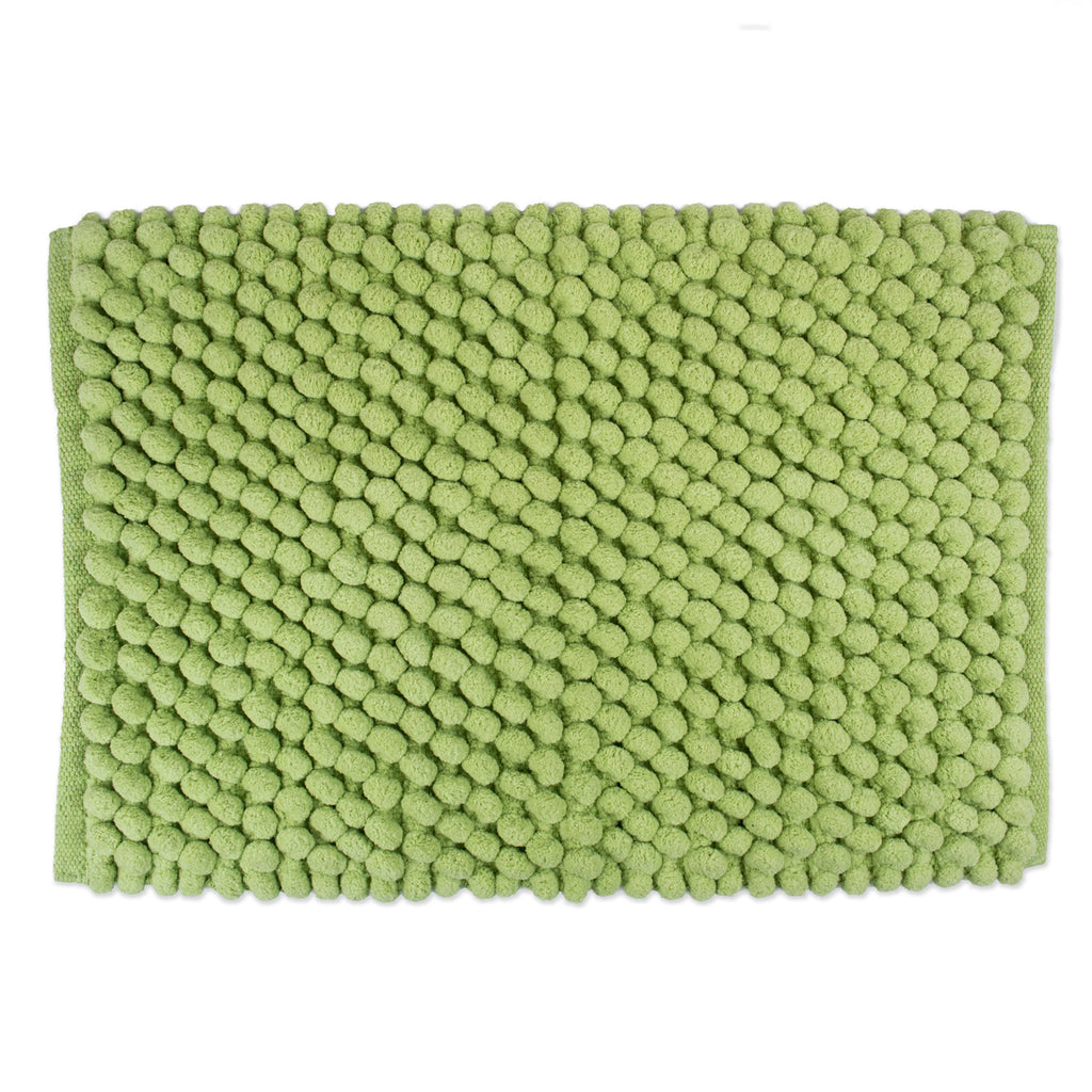 Bath Mf Mat Green Solid 21x34