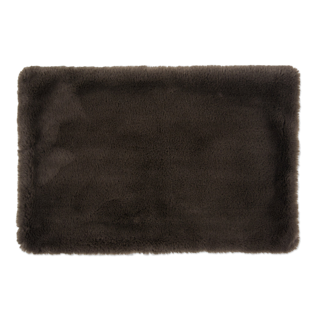 Cage Liner Faux Fur Brown Xlg