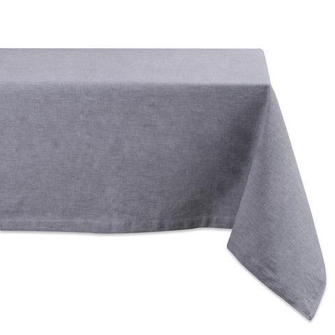 Chambray Tablecloth - Gray