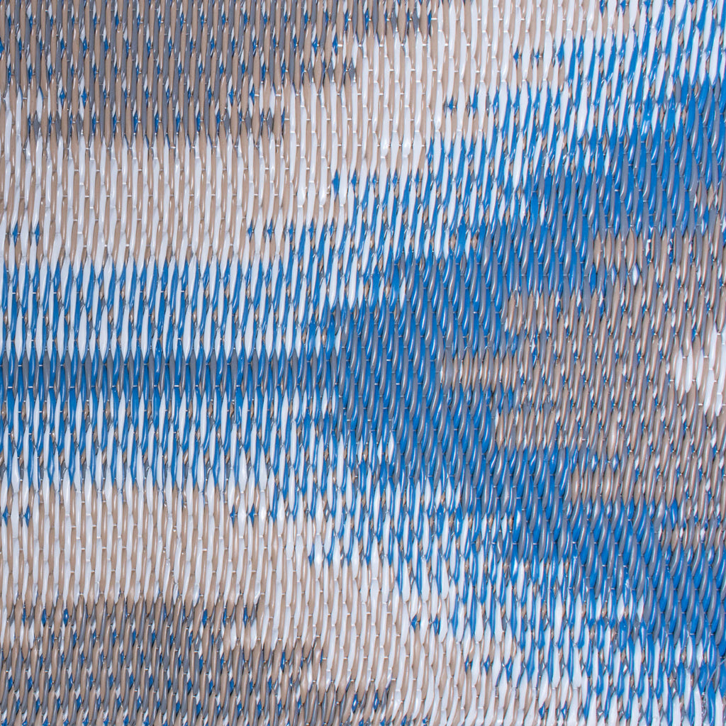 DII Blue Ikat Outdoor Rug