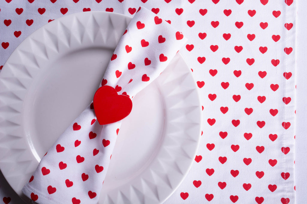 DII Lil Hearts Napkin (Set of 6)