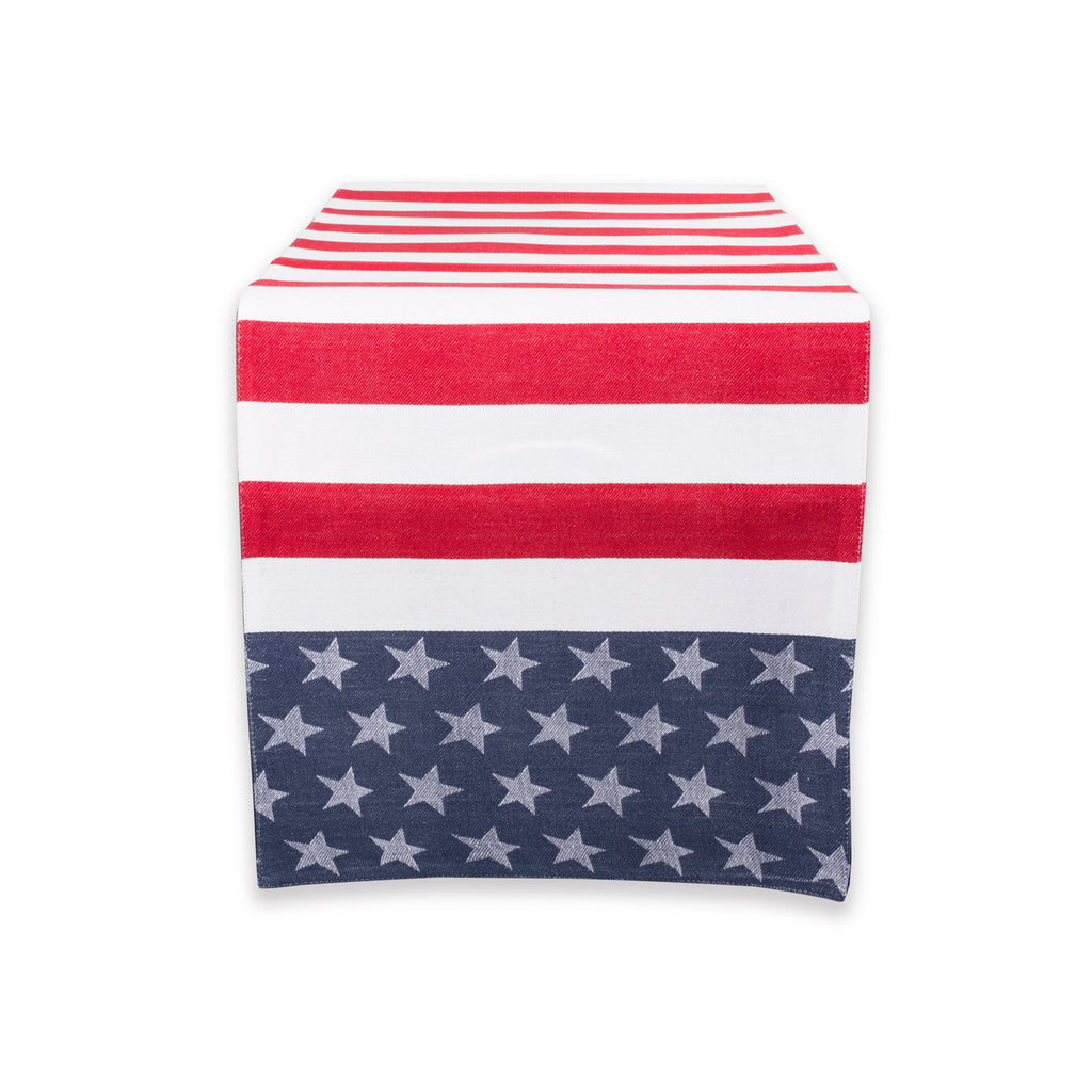 Stars & Stripes Table Runner 14x54