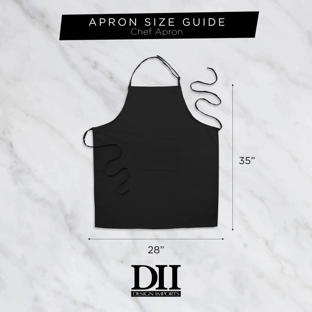 DII Cat Print Chef Apron