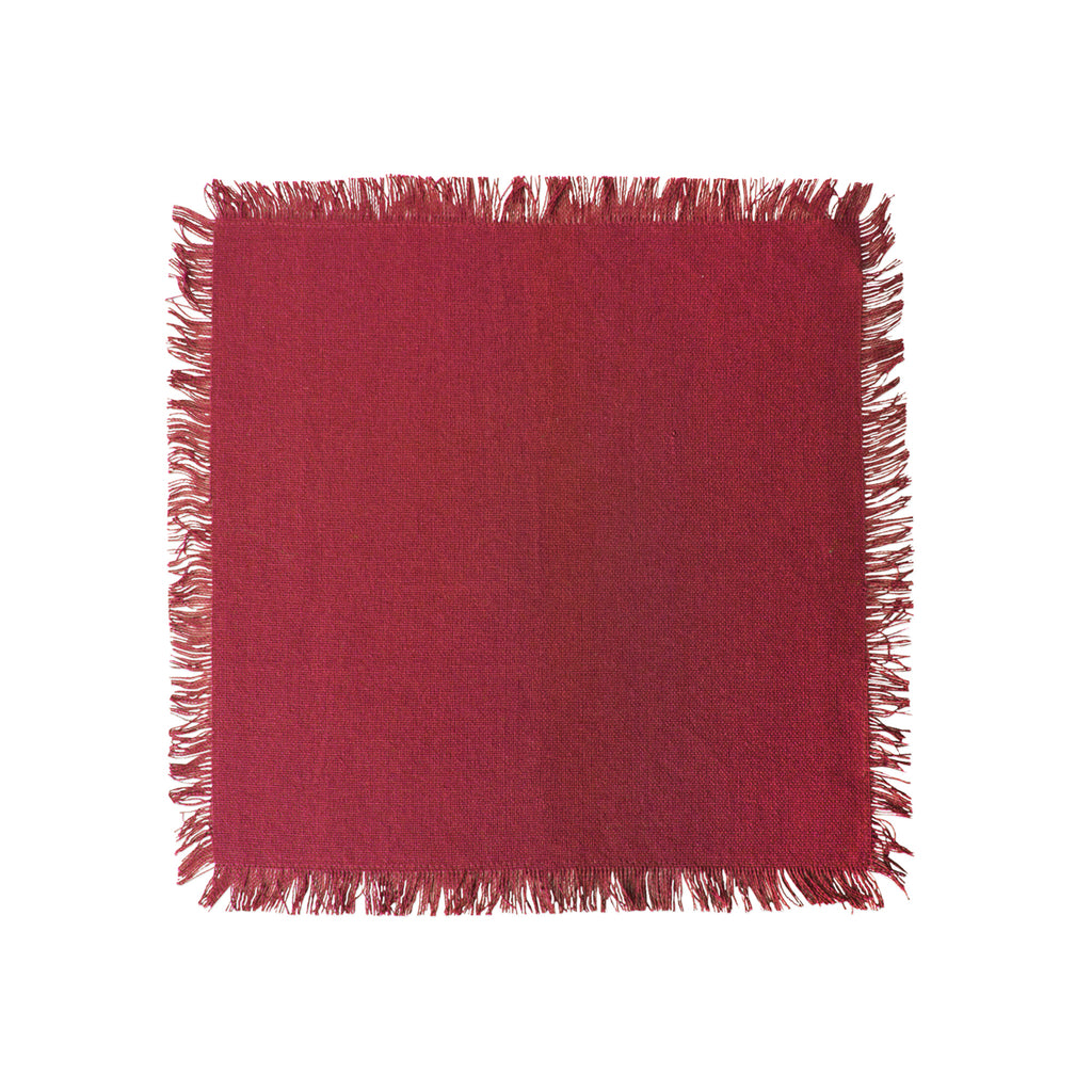 DII Assorted Wine Heavyweight Fringed Dishcloth (Set of 6)