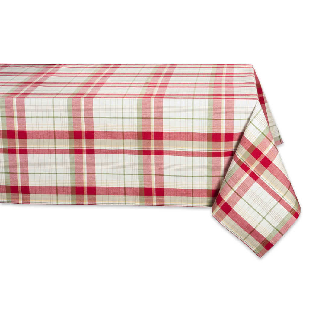 Orchard Plaid Tablecloth 52x52