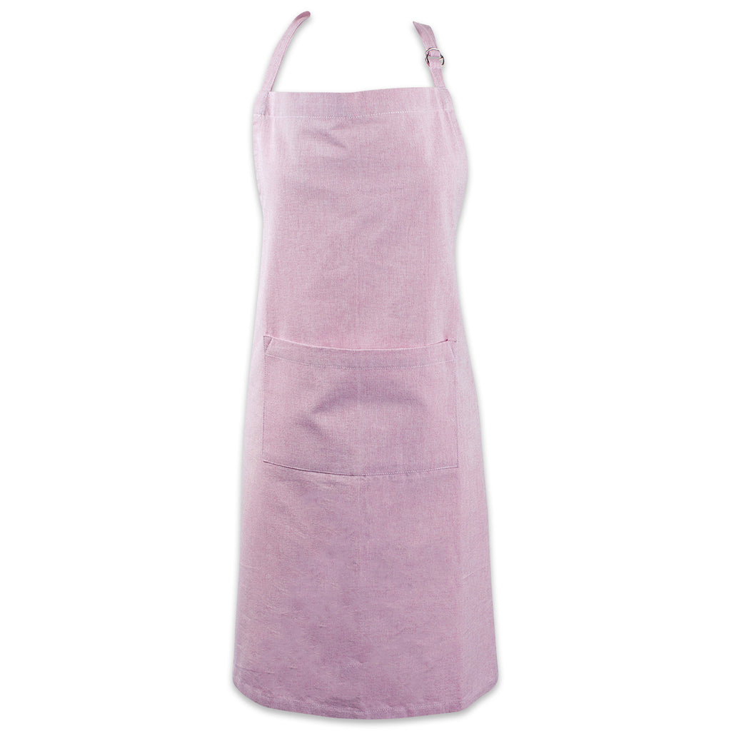 Rose Solid Chambray Chef Apron