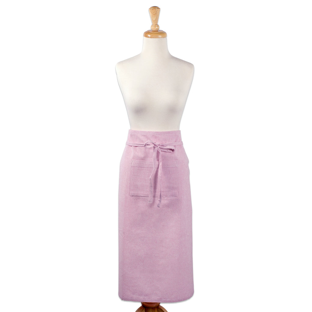 DII Rose Solid Chambray Bistro Apron