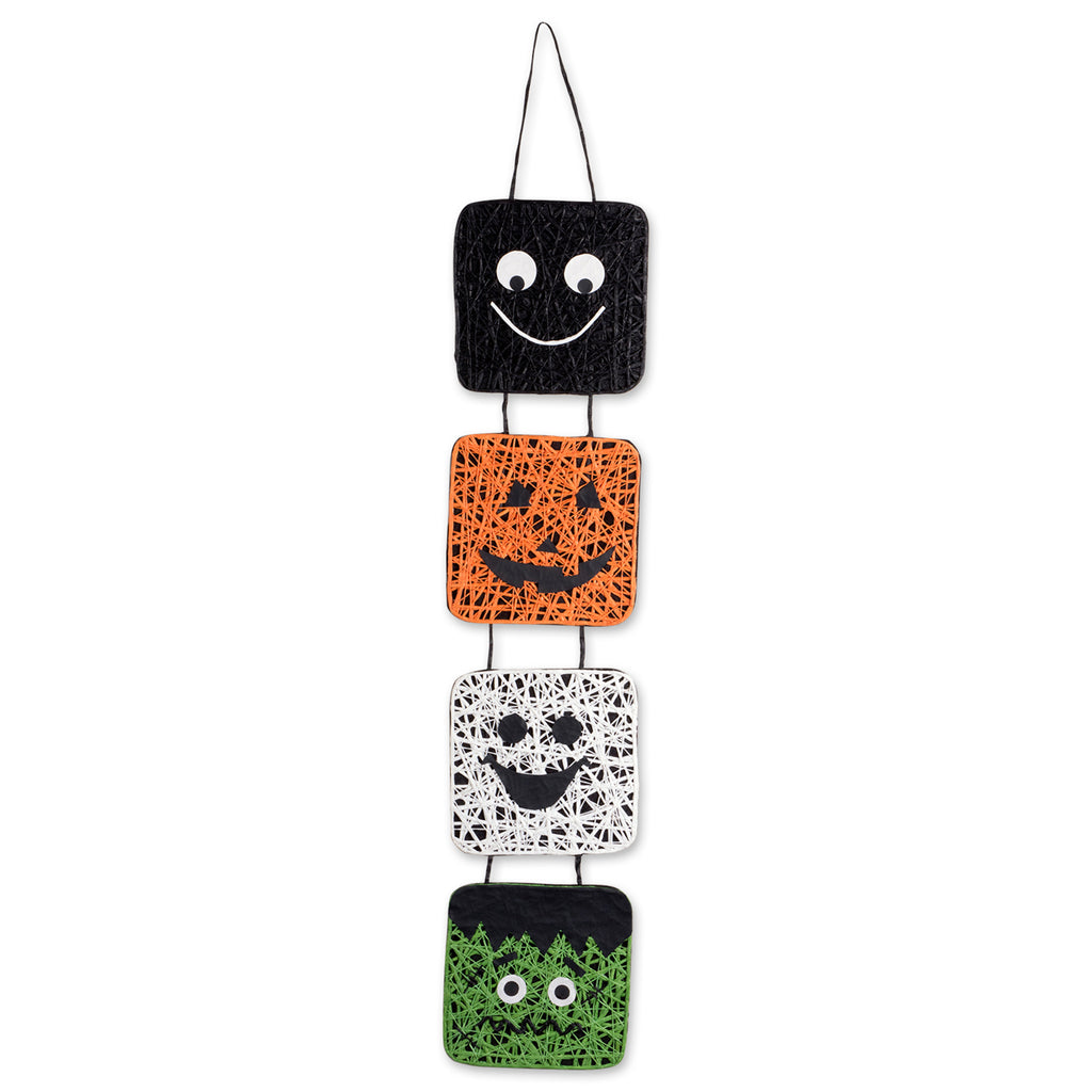 Hanging Halloween Faces