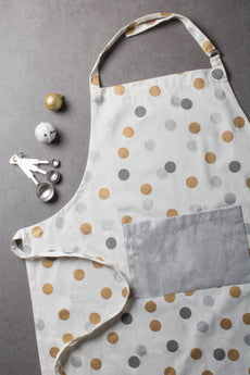 Metallic Confetti Chef Apron