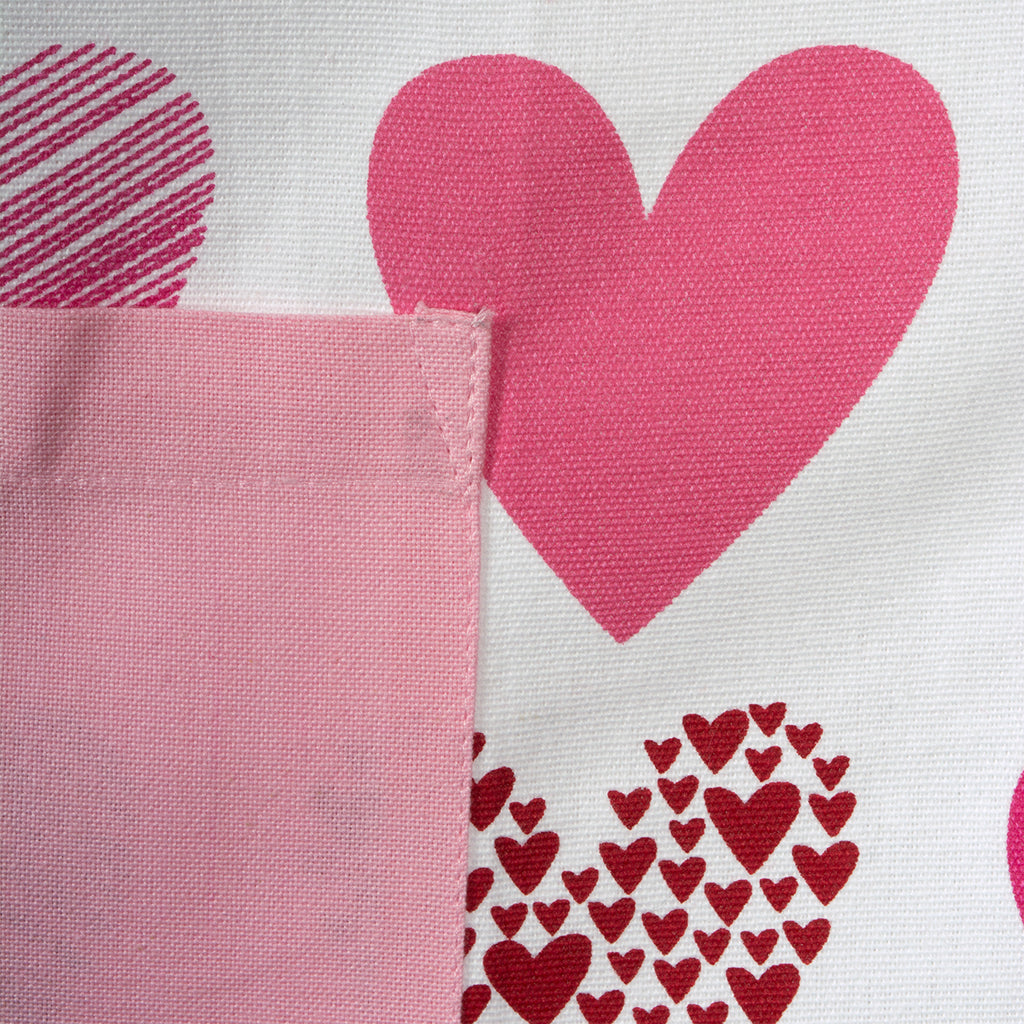 DII Hearts Collage Print Chef Apron