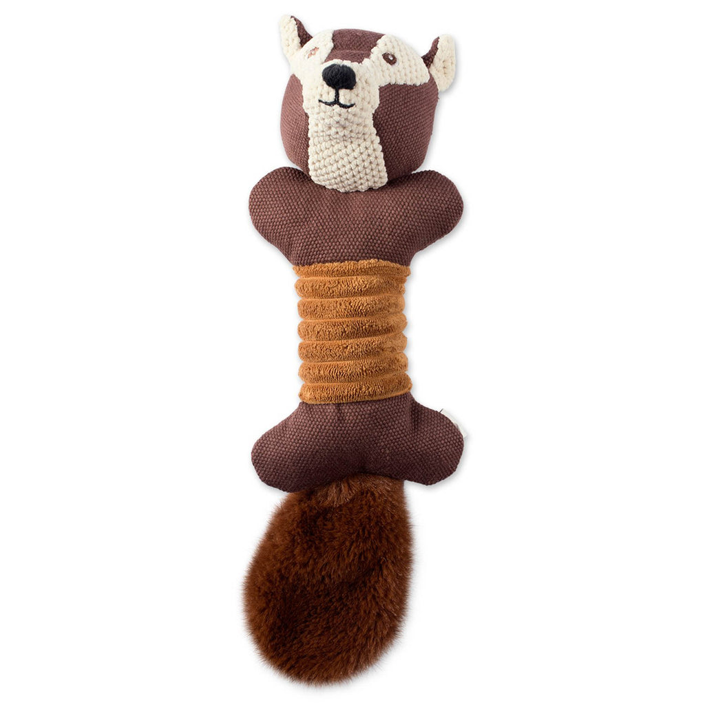 Squirrel Squeaky Bone Pet Toy