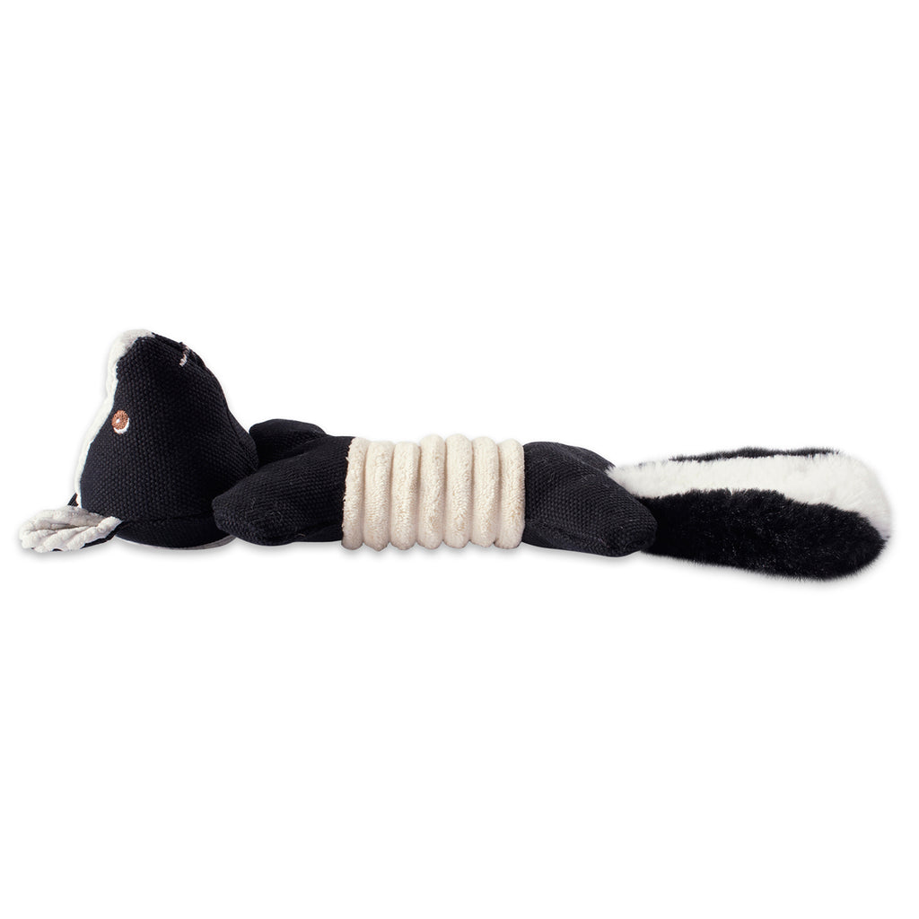 DII Skunk & Fox Squeaky Bone Pet Toy (Set of 2)