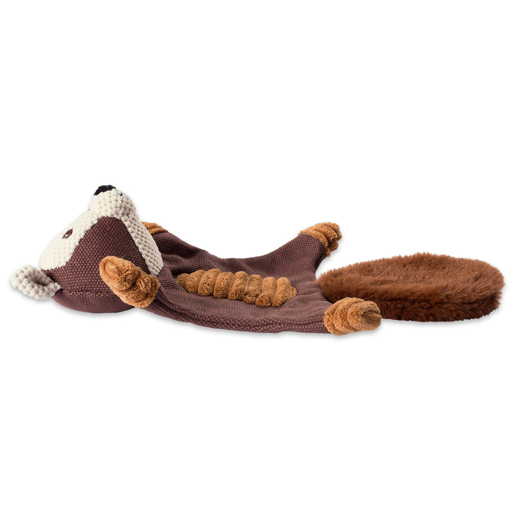 DII Squirrel Flat Squeaker Pet Toy