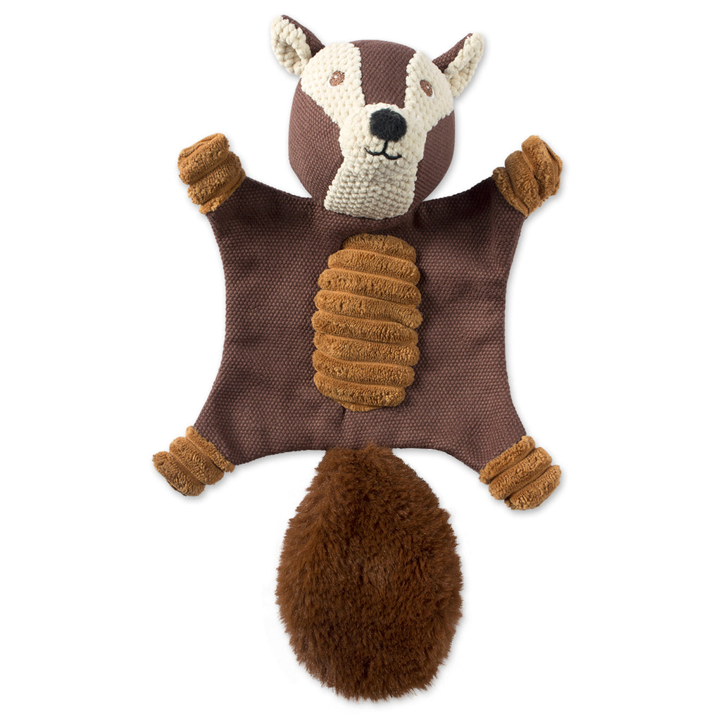 Squirrel Flat Squeaker Pet Toy