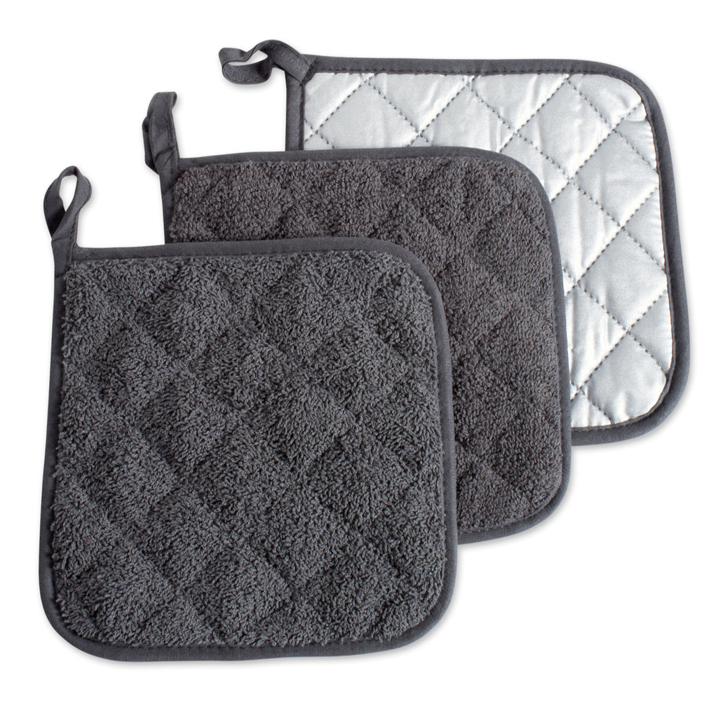 Mineral Terry Potholder Set/3