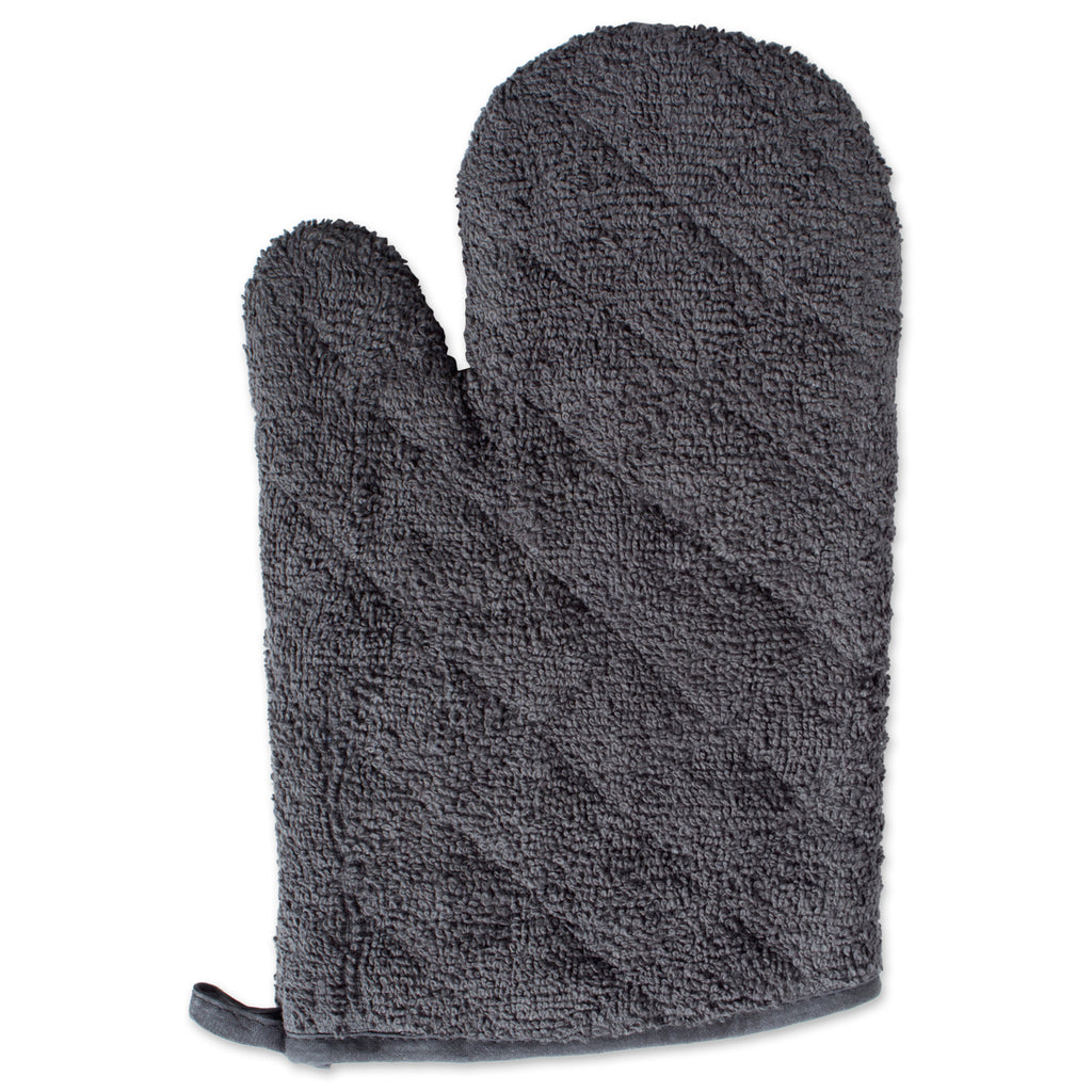 DII Mineral Terry Oven Mitt (Set of 2)