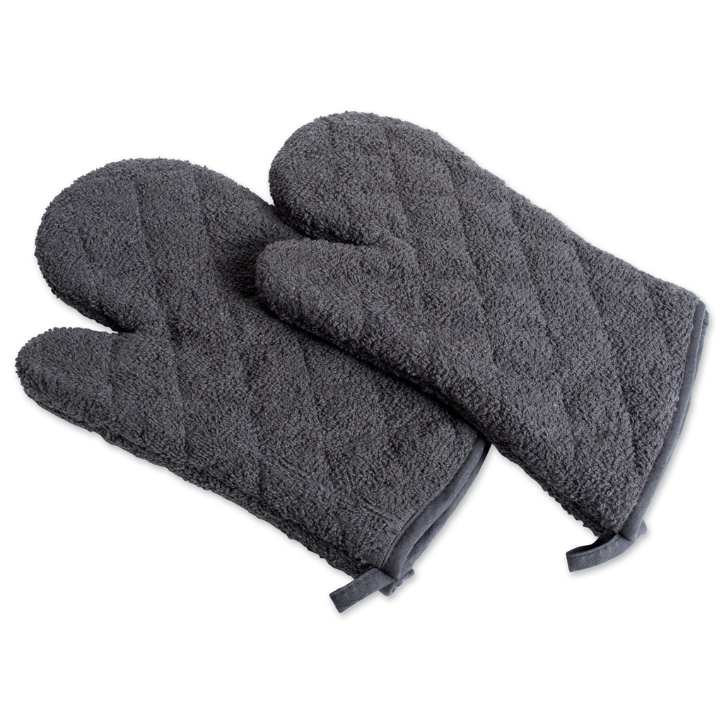 Mineral Terry Oven Mitt Set/2